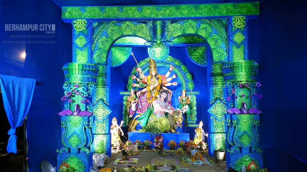 Durga Puja Water Tank Road Berhampur