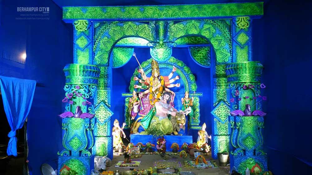 Durga Puja Water Tank Road Brahmapur