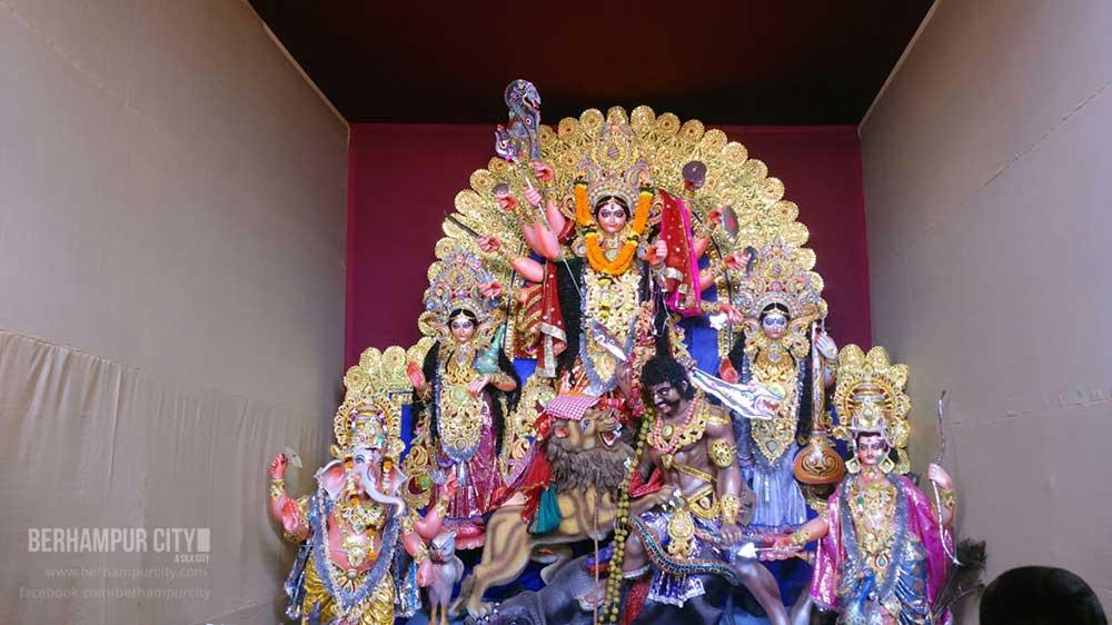 Durga Puja Kamapalli Berhampur