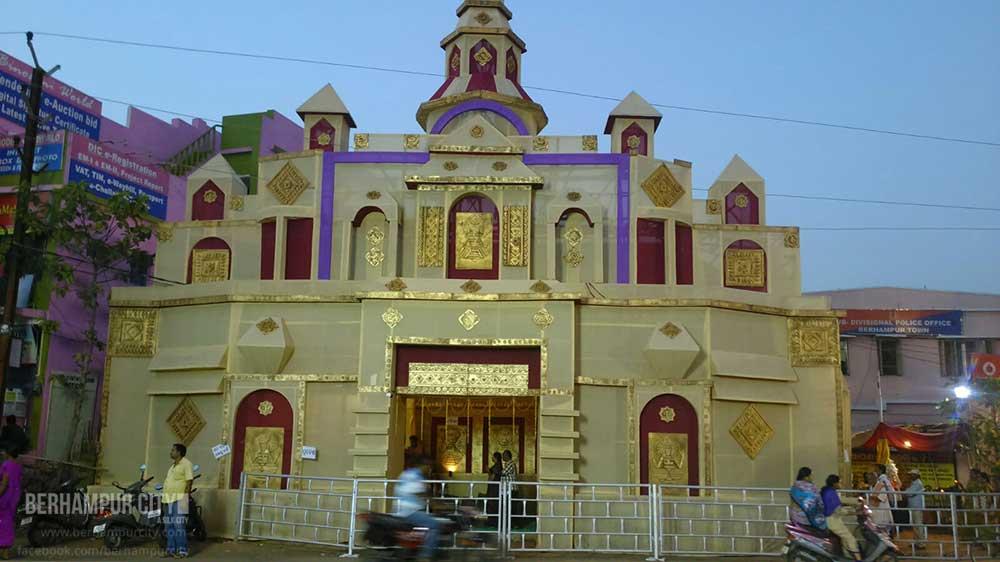 Durga Puja Kamapalli, Brahmapur