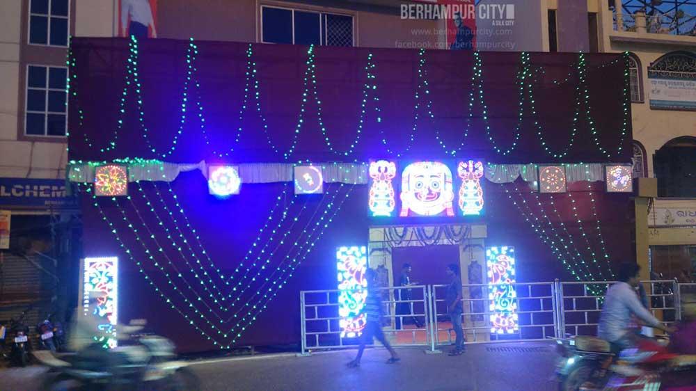 Durga Puja Tata Benz Square Berhampur