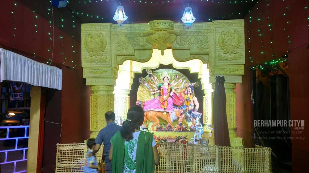 Durga Puja Tata Benz Square Brahmapur