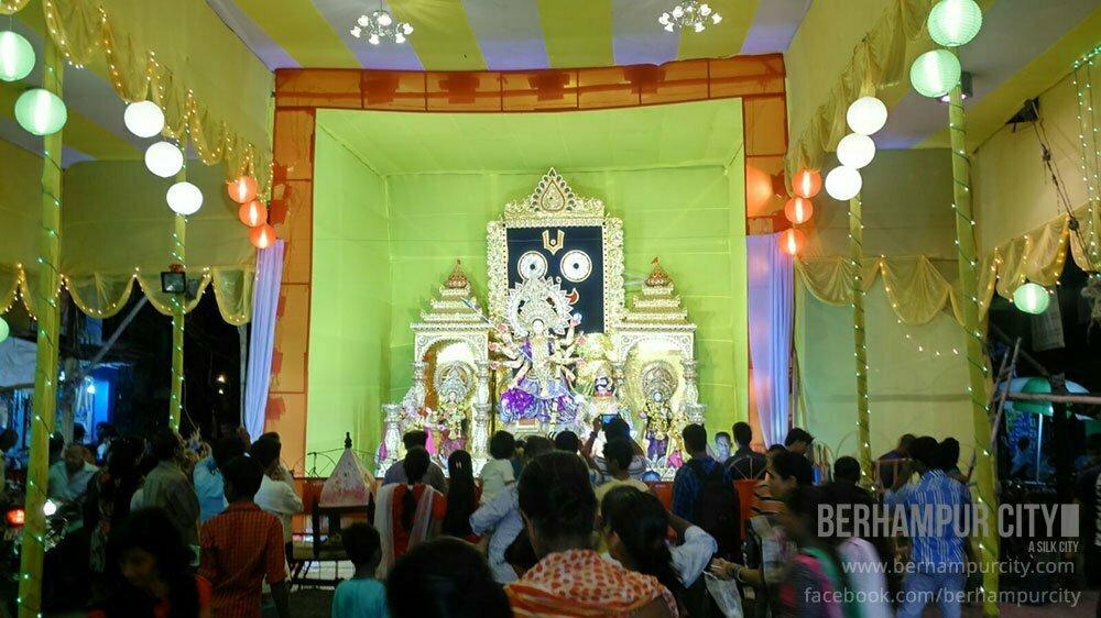 Durga Puja Festival in Berhampur City