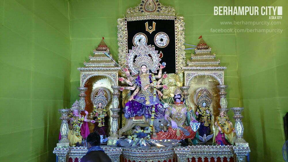 Durga Puja in Brahmapur