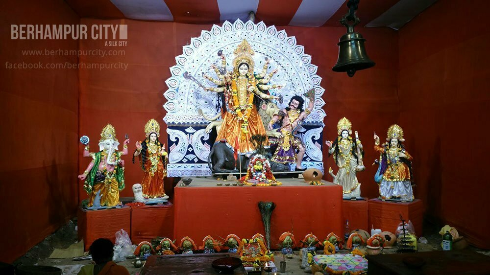 Durga Puja at Old Bus Stand, Brahmapur