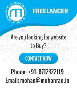 Mohan Web Designer