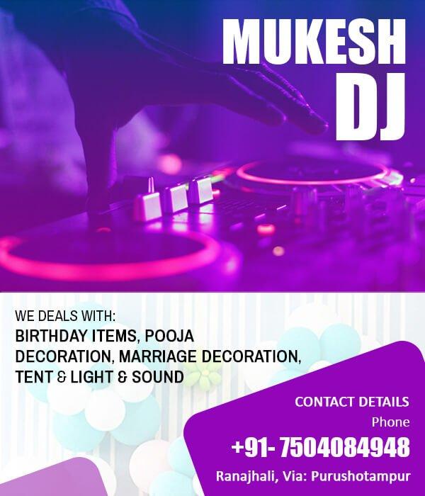 Mukesh DJ, Purushottampur